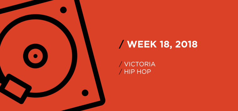 Victoria Hip-Hop Chart for Week 18, 2018