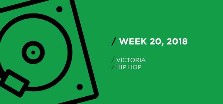 Victoria Hip-Hop Chart for Week 20, 2018