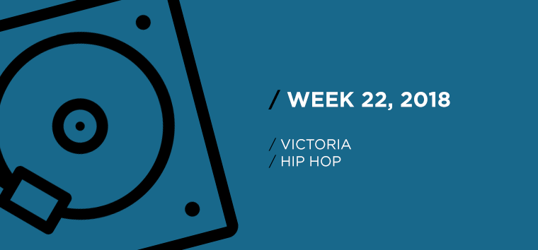 Victoria Hip-Hop Chart for Week 22, 2018