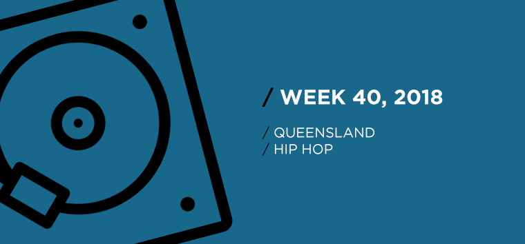 Queensland Hip-Hop Chart for Week 40, 2018