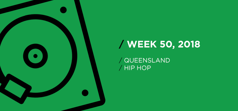 Queensland Hip-Hop Chart for Week 50, 2018