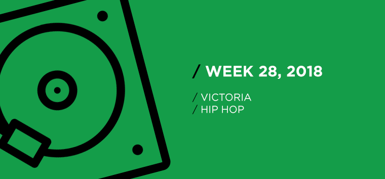 Victoria Hip-Hop Chart for Week 28, 2018