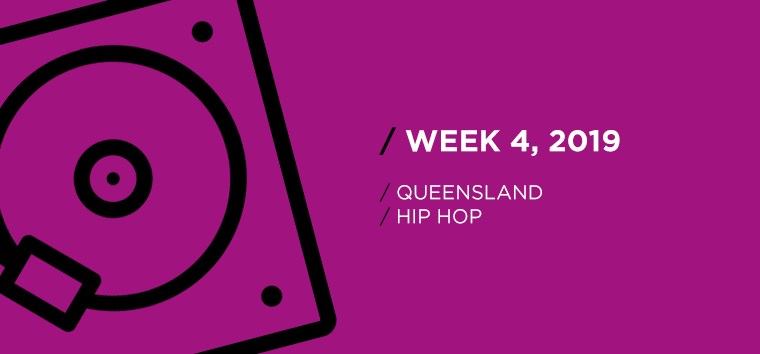 Queensland Hip-Hop Chart for Week 04, 2019
