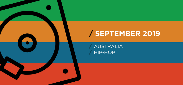 Australian National Hip-Hop Chart for September 2019