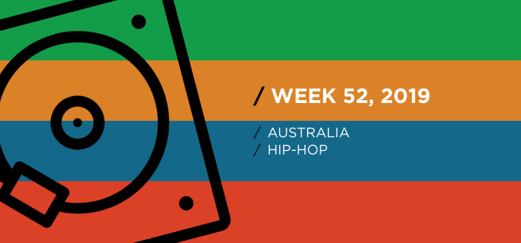 Australia Hip-Hop Chart for Week 52, 2019